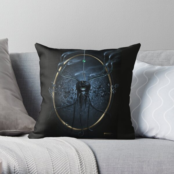 Decay - Digital Painting Throw Pillow