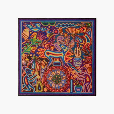 Huichol Art Board Print