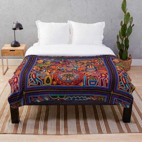 Huichol Throw Blanket