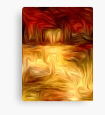 Abstract Colors Oil Painting #11 Canvas Print