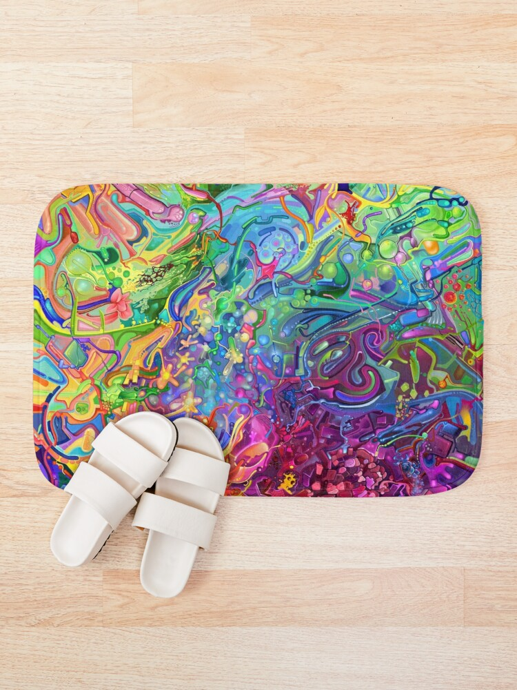 Alternate view of This Page Intentionally Left Blank - Digital Art & Painting Bath Mat