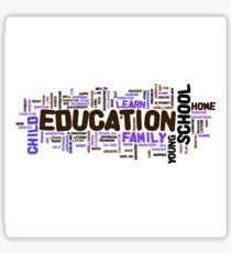 Education Sticker