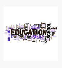 Education Photographic Print