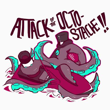 Attack of the PINK Octostache by rachelgeorge