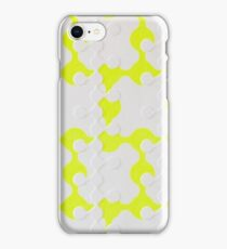 Neon Puzzle iPhone Case/Skin