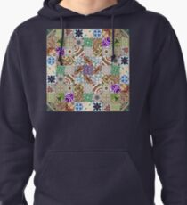 Cement tiling Pullover Hoodie