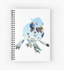 Drifblim used fly Spiral Notebook