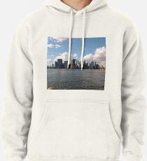Manhattan, Skyscrapers, New York City, #Manhattan, #Skyscrapers, #NewYorkCity Pullover Hoodie