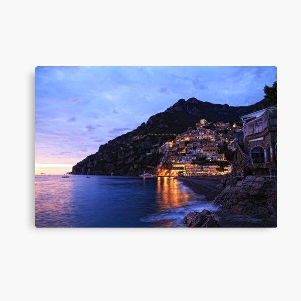 Positano Italie Impression sur toile