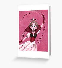 Petal Dance Greeting Card