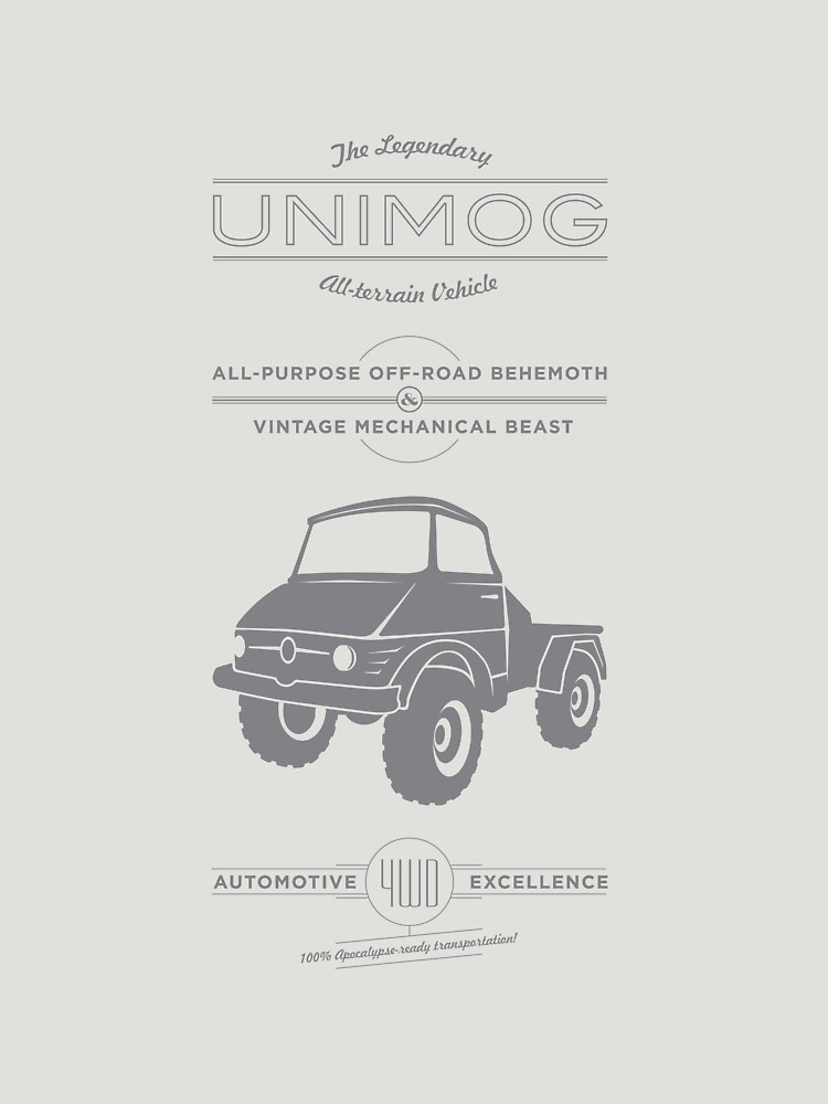 The Mighty Unimog | Unisex T-Shirt