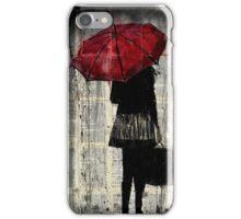 feels like rain iPhone Case/Skin