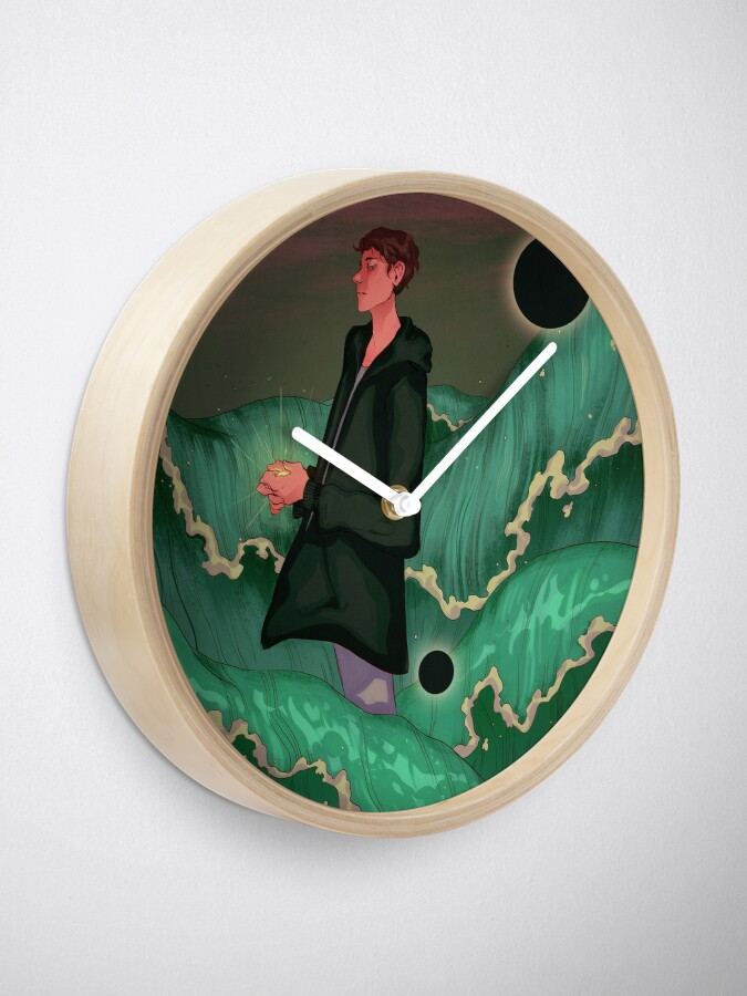 Alternate view of Forever Yours Clock