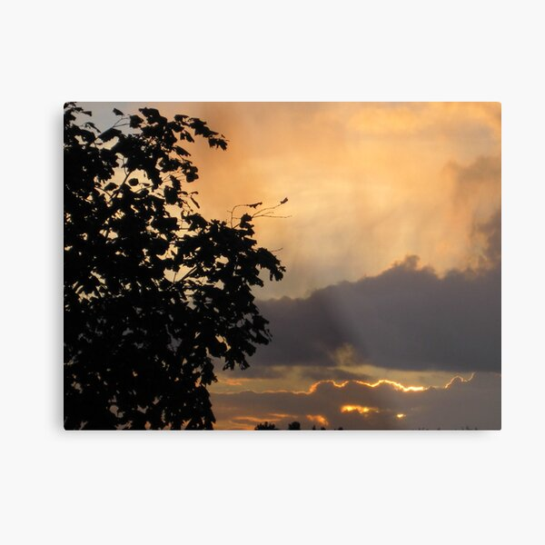 until tomorrow comes Metal Print