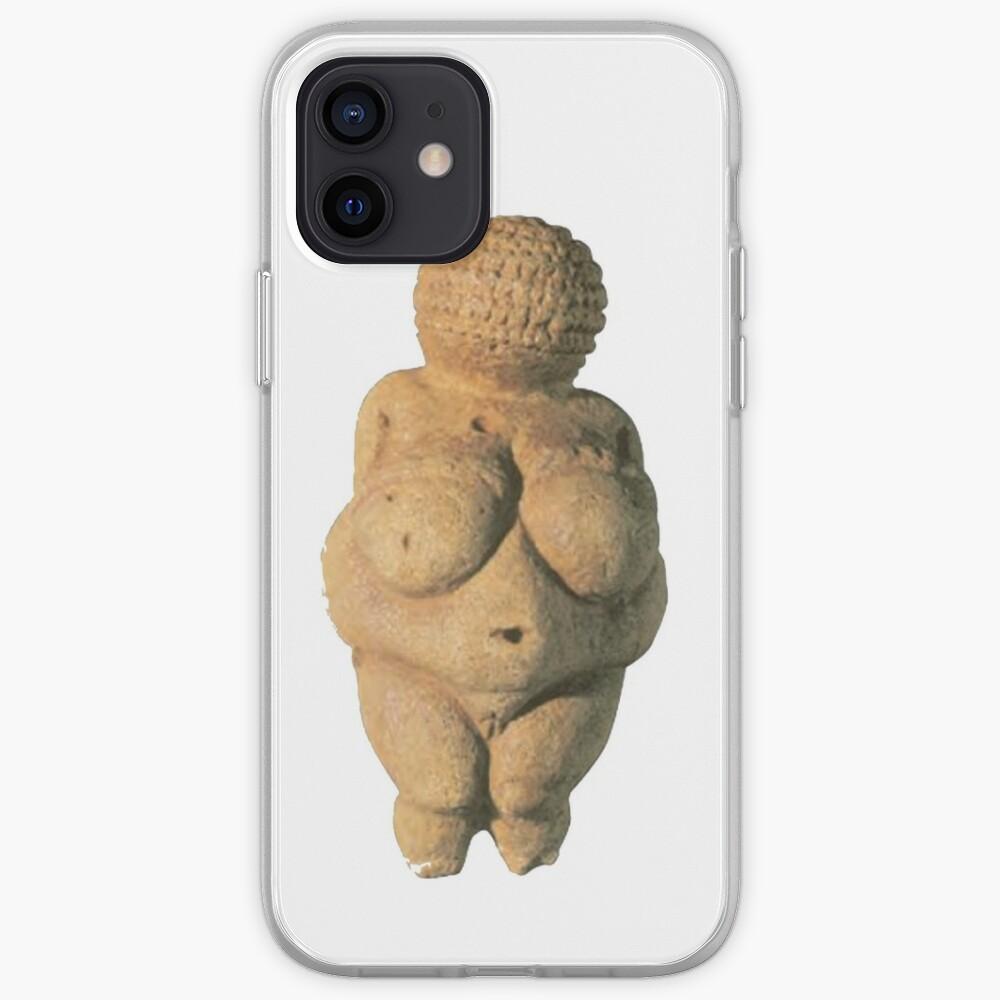 #Venus of #Willendorf #artifact sculpture art figurine statue humanbody #VenusofWillendorf iPhone Case & Cover