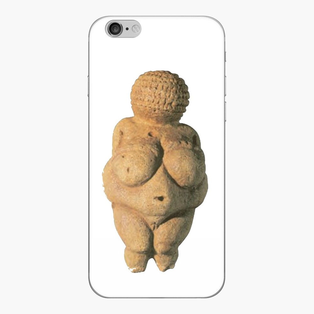 #Venus of #Willendorf #artifact sculpture art figurine statue humanbody #VenusofWillendorf iPhone Skin