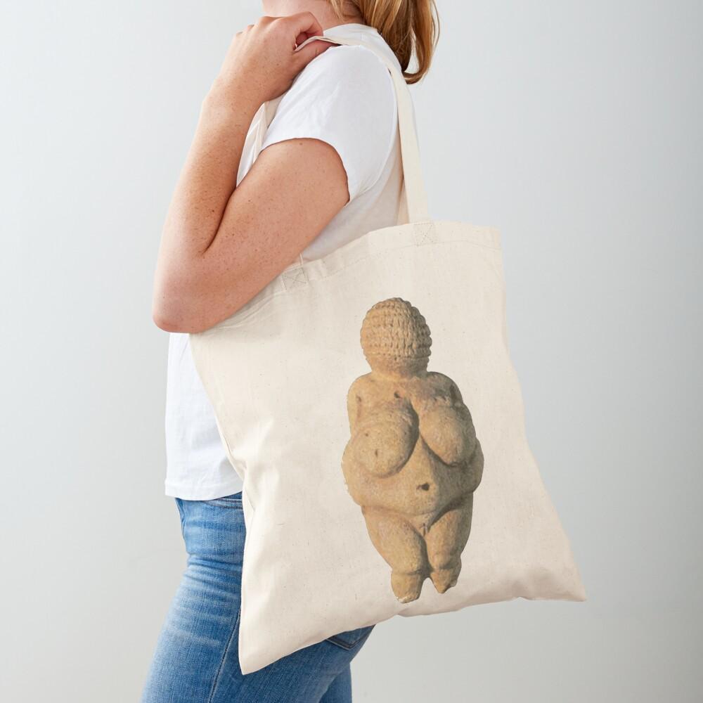 #Venus of #Willendorf #artifact sculpture art figurine statue humanbody #VenusofWillendorf Tote Bag