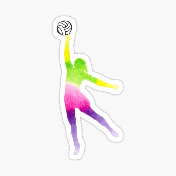 Netball Goals Sticker