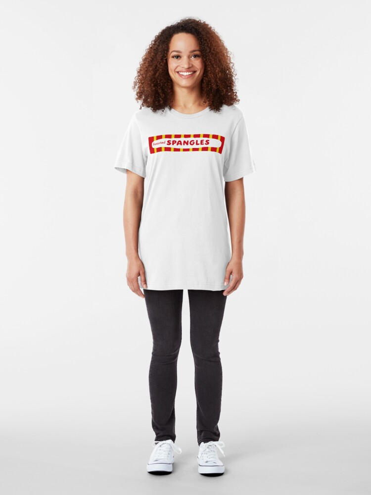 Alternate view of NDVH Spangles 1950s Slim Fit T-Shirt
