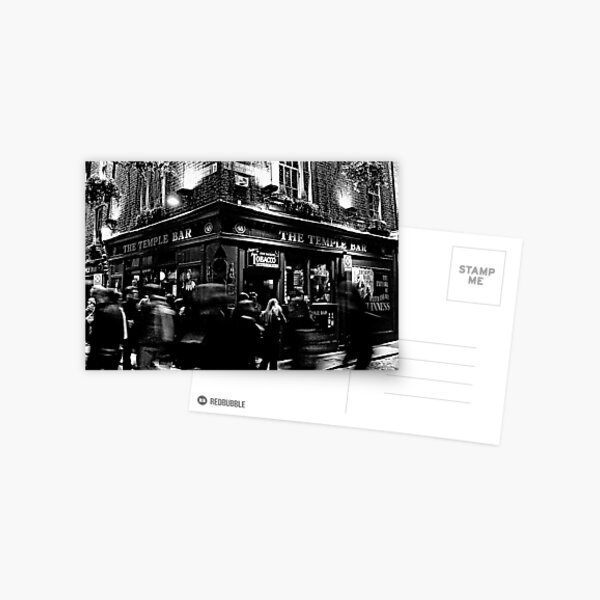 Temple Bar Postcard