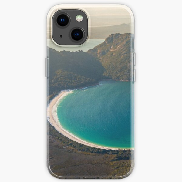 Wineglass Bay, Tasmania iPhone Soft Case