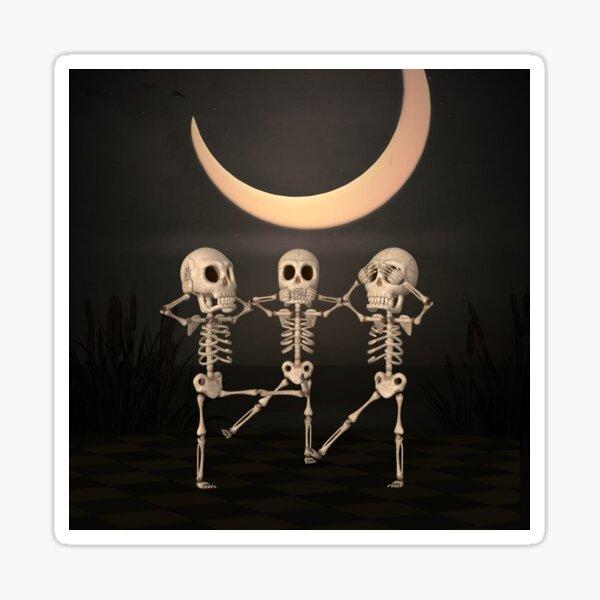 Skeletts Sticker