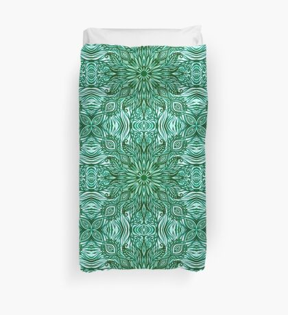 - Emerald pattern - Duvet Cover