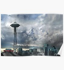 Sweetly Seattle ... Seattle Rain Series Poster