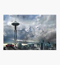 Sweetly Seattle ... Seattle Rain Series Photographic Print