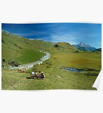 Hochtannberg Pass, Austria, 1980s Poster