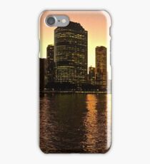Brisbane City from Kangaroo Point, Qld iPhone Case/Skin
