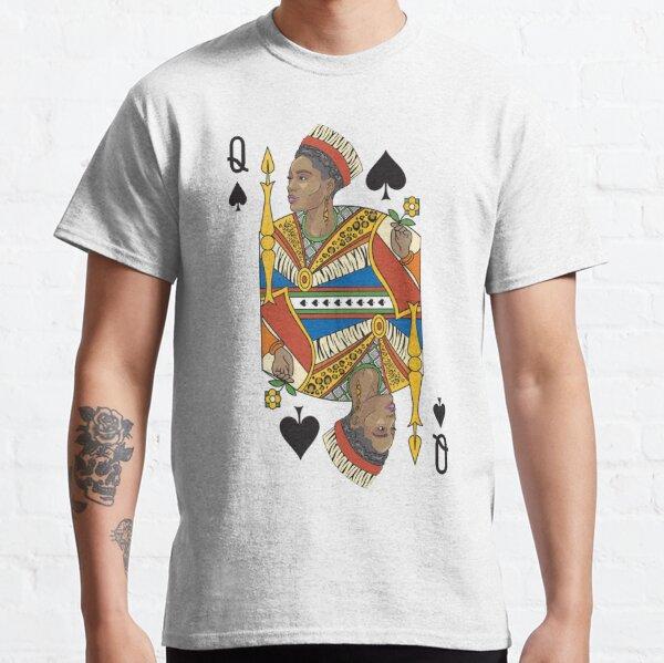 BLACK QUEEN | Gifts for women, African American Queen, Afro European Queen.  Classic T-Shirt