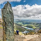 The Snowdon Obelisk by Adrian Evans