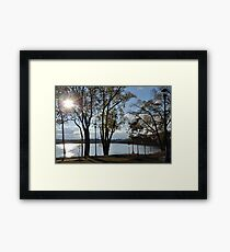 Old Road To Columbia Framed Print