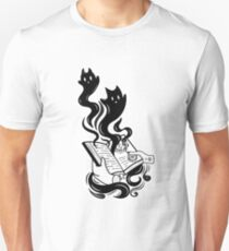 Demon Book Slim Fit T-Shirt