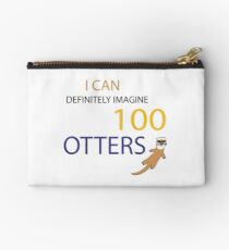 100 Otters Studio Pouch