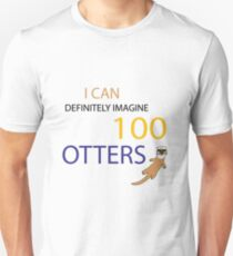 100 Otters Unisex T-Shirt