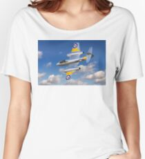 Gloster Meteor Jet Trainer Women's Relaxed Fit T-Shirt