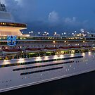 Night Time on the Monarch by abryant
