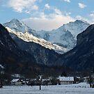 Mönch, Jungfraujoch and Jungfrau by Mark Howells-Mead