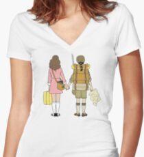 Moonrise Kingdom - Suzy & Sam Women's Fitted V-Neck T-Shirt