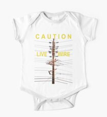 Caution - Live Wire One Piece - Short Sleeve