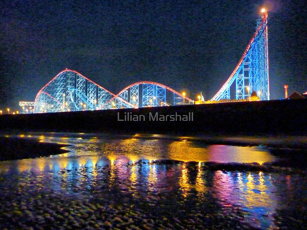Quot Pepsi Max Blackpool Quot By Lilian Marshall Redbubble