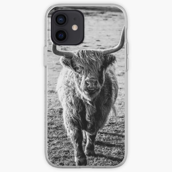 Highland Huey iPhone Soft Case