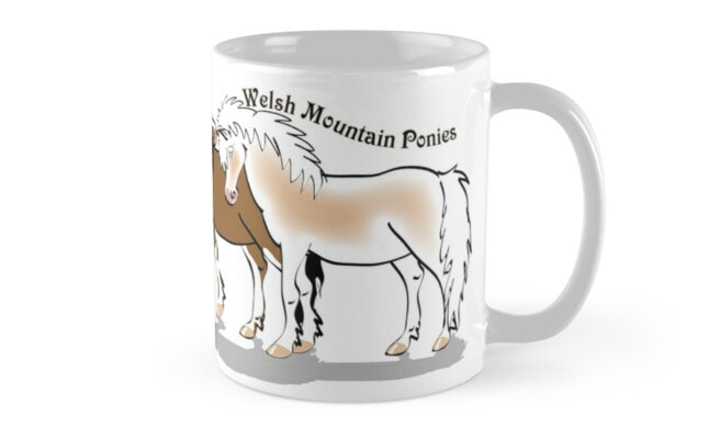 Welsh Mountain Ponies  by Diana-Lee Saville