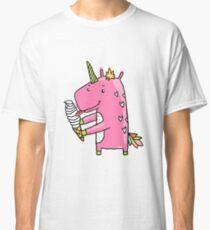 Unicorn and ice cream Classic T-Shirt