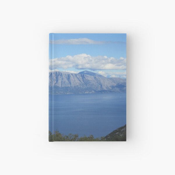 Up to the mountains! Hardcover Journal