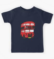 Cute London Bus Kids Tee