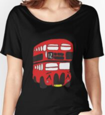 Cute London Bus Women's Relaxed Fit T-Shirt
