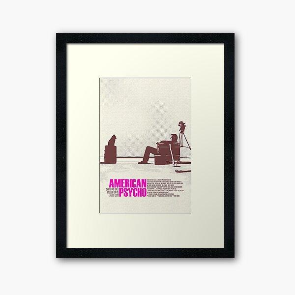 Reservations At Dorsia Framed Art Print